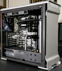 black white and blue gaming pc builds vtwctr