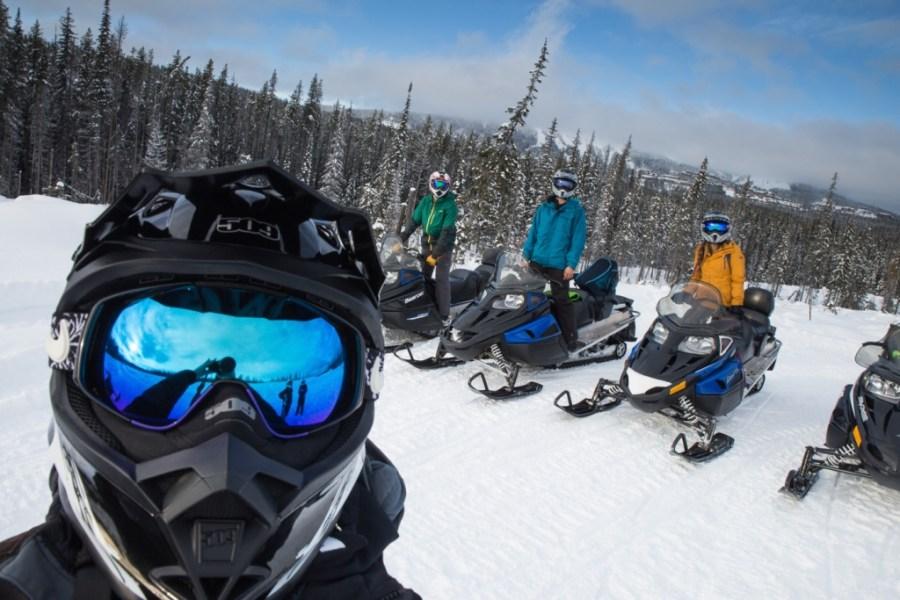 Big White Snowmobiling