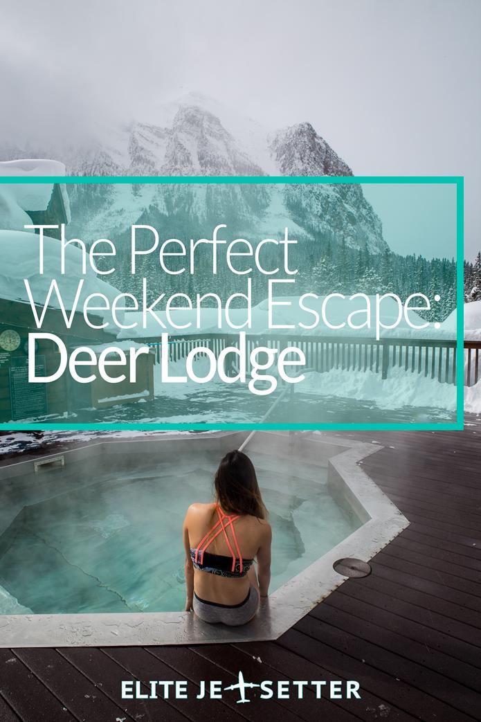 Deer lodge the perfect weekend