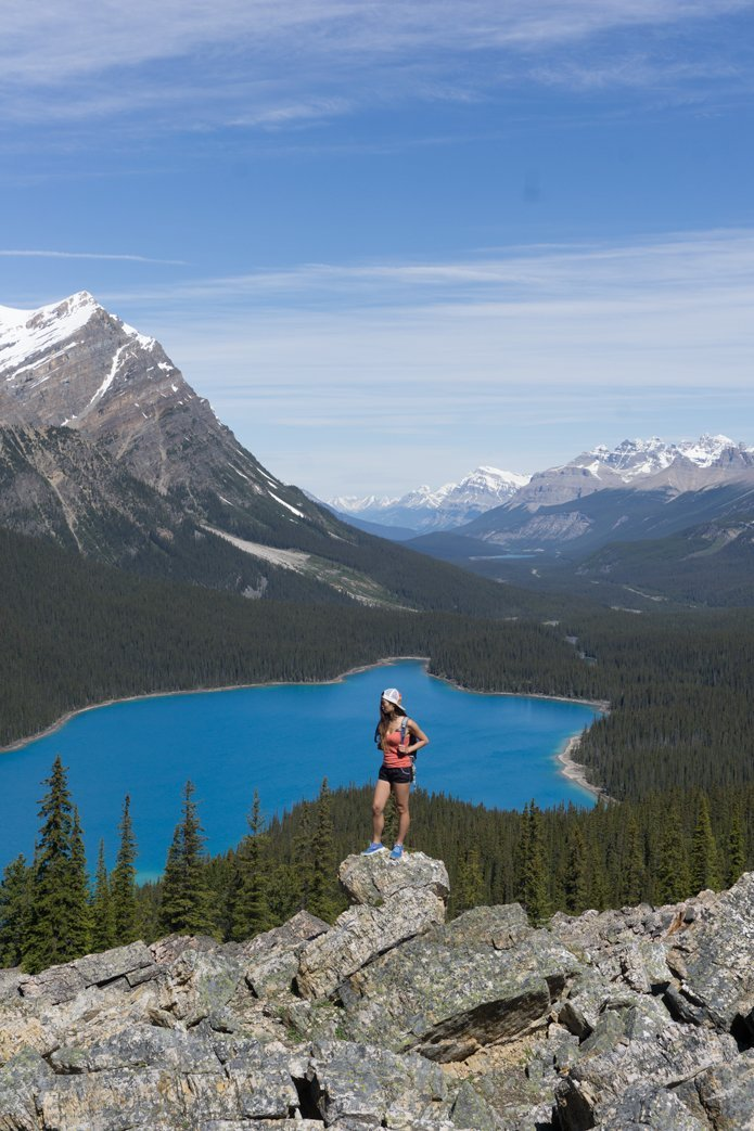 Peyto Lake Icefields Parkway