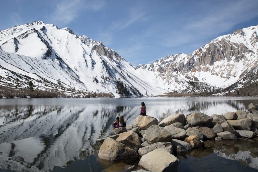 Convict Lake Mammoth Lakes California
