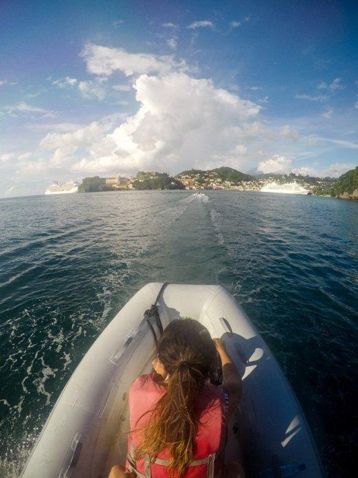 boat tour grenada