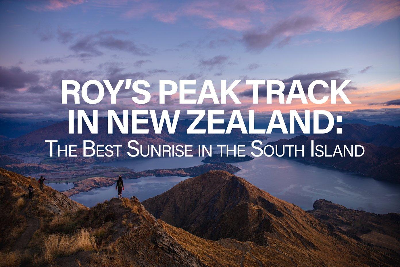 Roy's Peak Track New Zealand