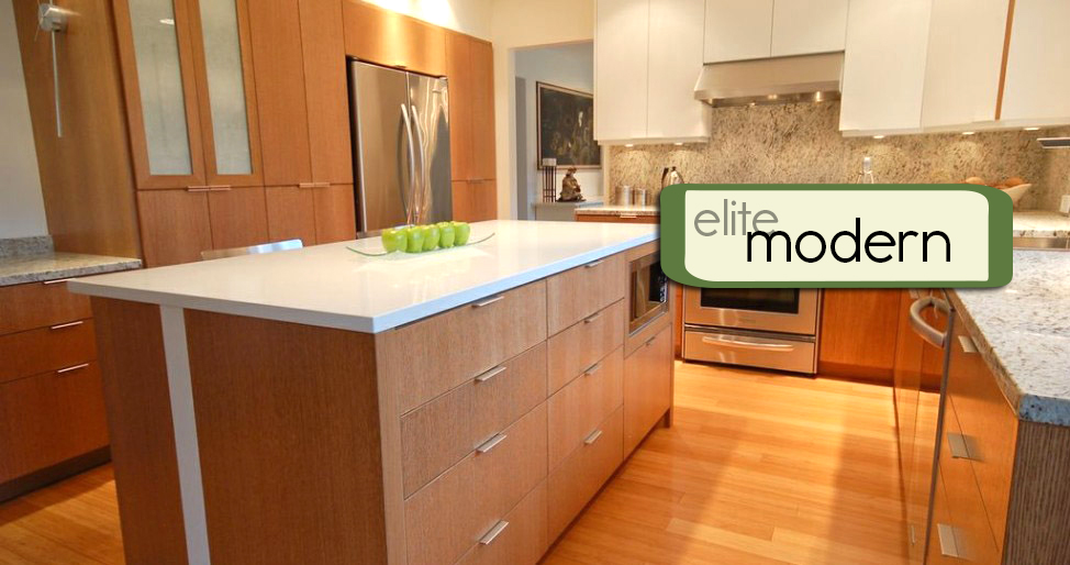 Modern Kitchen by Elite Kitchen & Bath Centre