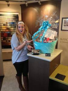 win this gift basket on our Facebook Page from Elite Kitchens and Bathrooms Langley Vancouver BC