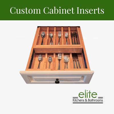 Custom Cabinet Inserts