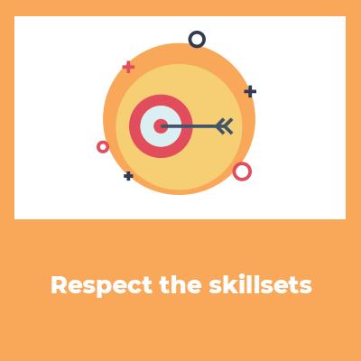 respect the skillsets