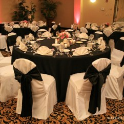 Ivory Chair Covers With Gold Sash Wheel For Sale Christy And Cameron 6 26 10 Hilton Elite Entertainment