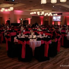 Dark Red Chair Sashes Electric Lift Nz Samantha And Jacob 7 28 12 I Hotel Elite Entertainment