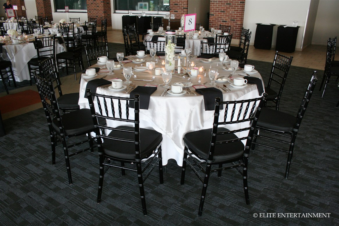 white chairs for wedding make christmas chair covers elite entertainment bridal a taste of our work