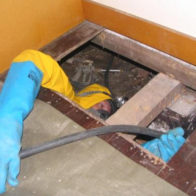 Subfloor Treatment