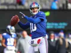 Eli Manning New York Giants