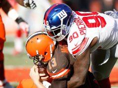 Jason Pierre-Paul, New York Giants, Josh McCown