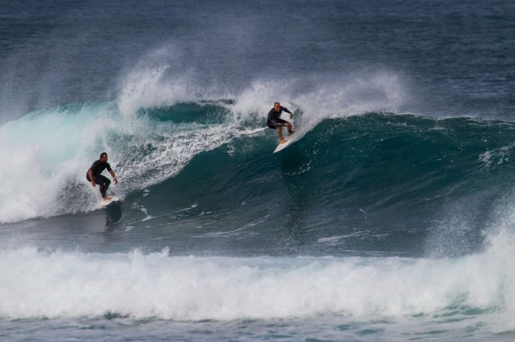 Surfing guided session