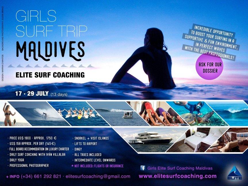 Maldives Surf trip