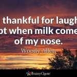 woody allen Inspirational Quotes