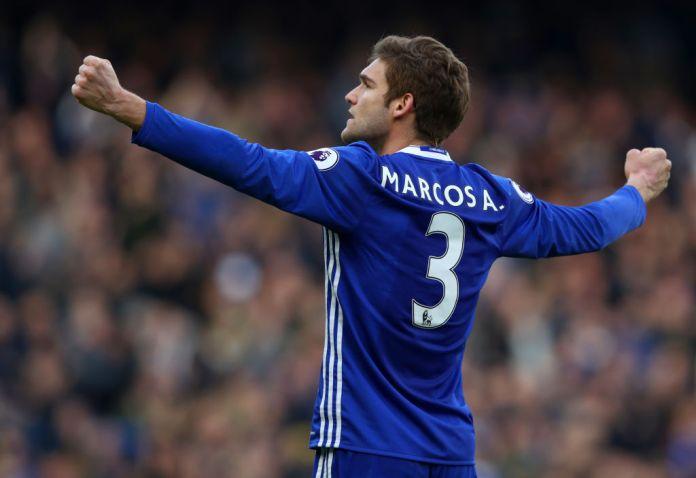 Marcos Alonso Free Kick