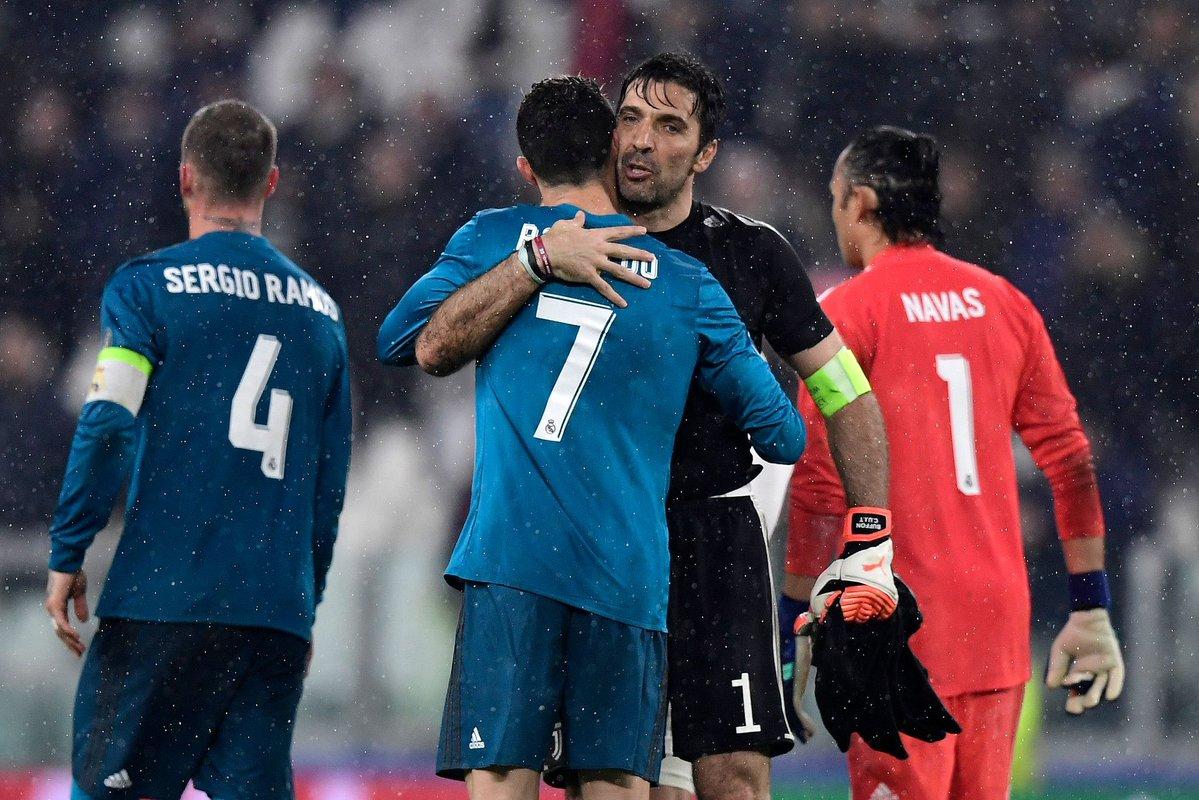 Buffon; Ronaldo is the Best