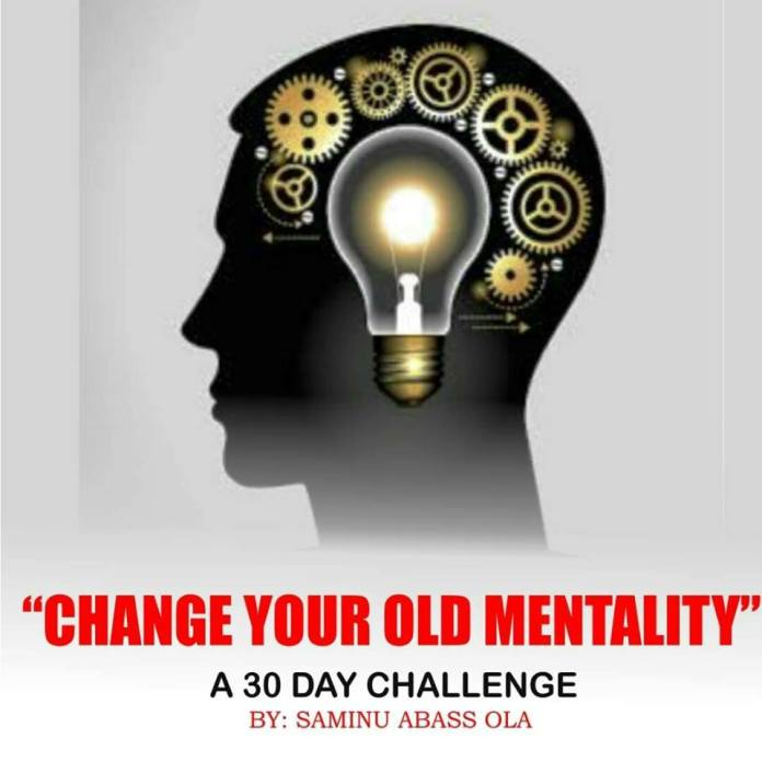DAY 3: Change The Old Mentality; How To Live A Healthy Lifestyle