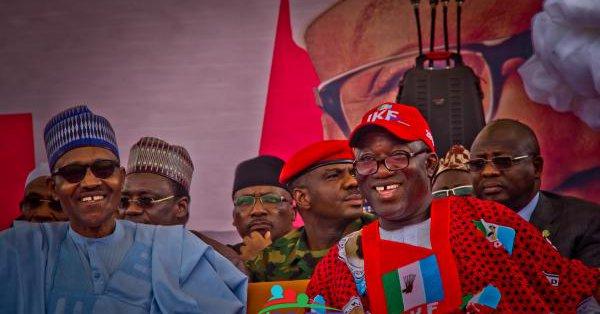kayode fayemi and Buhari