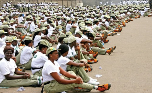 NYSC corps members June Allawee