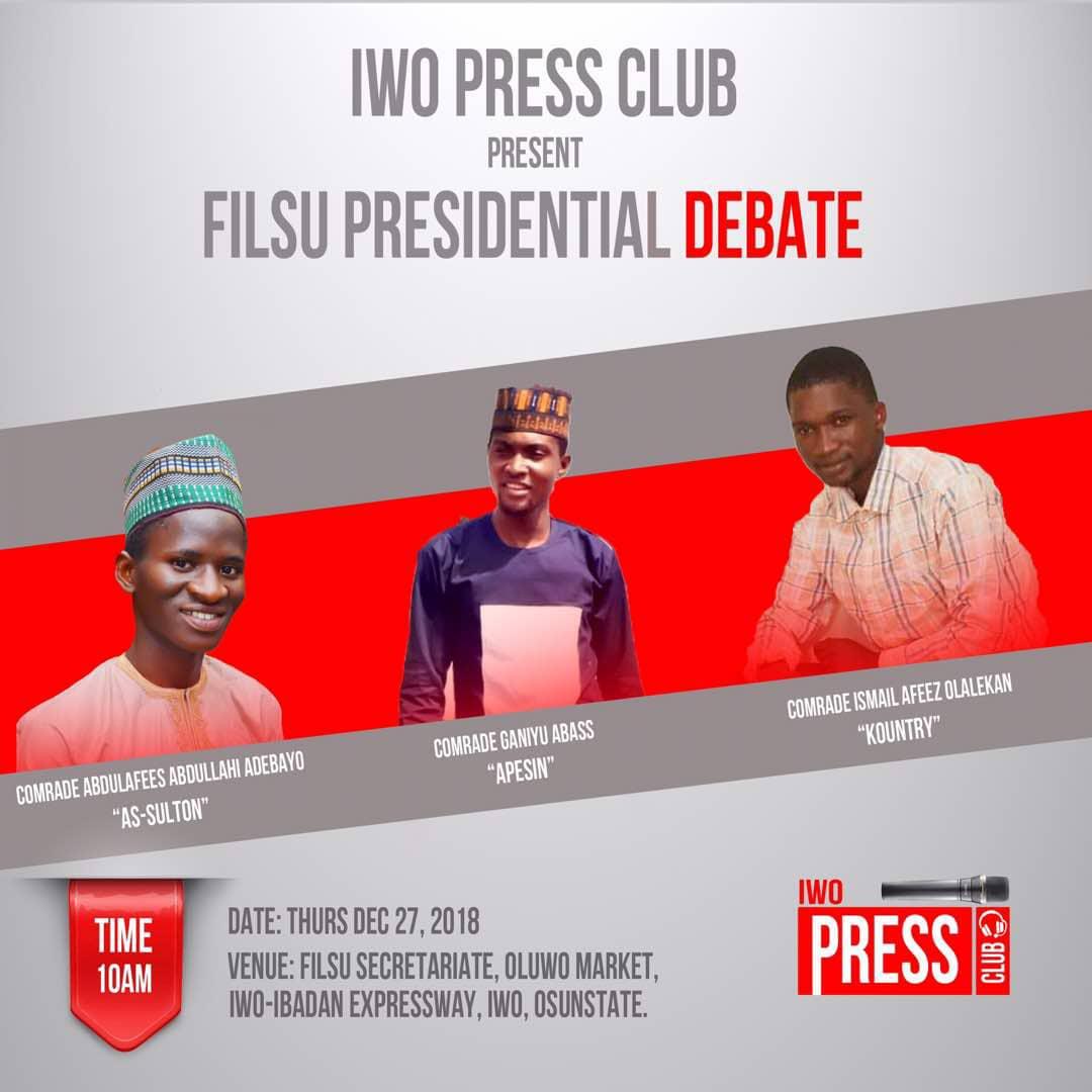 FILSU Iwo Press Club