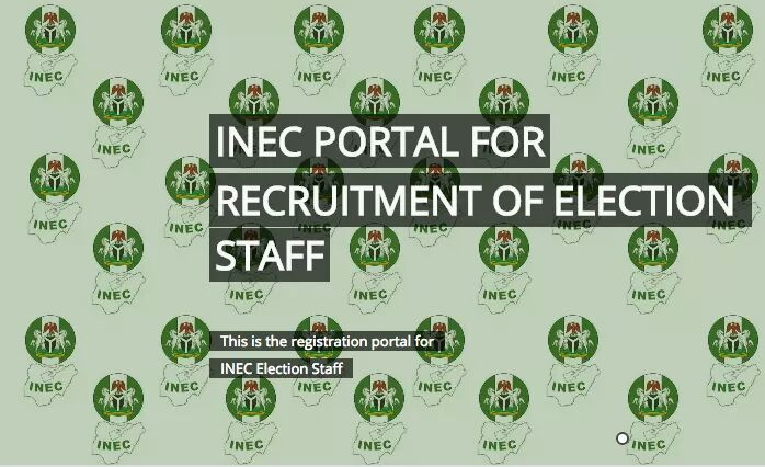 2019 Election: INEC Opens Portal For Recruitment of Election Staff
