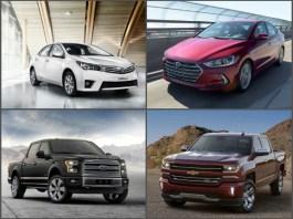 top car brands 2018/2019