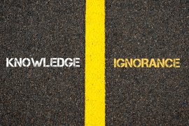 ignorance vs knowledge