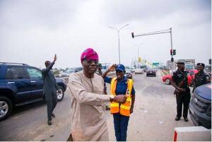 Sanwo-OLU and Lagos Traffics