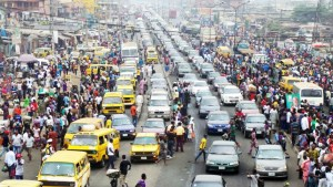 Lagos Traffics and Sanwo-Olu