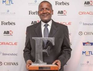 Top 20 Forbes' Africa Billionaire: Dangote Remains Richest Man in Africa