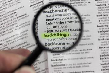 Social Sense: Backbiting | By Abdulazeez Kamaldeen