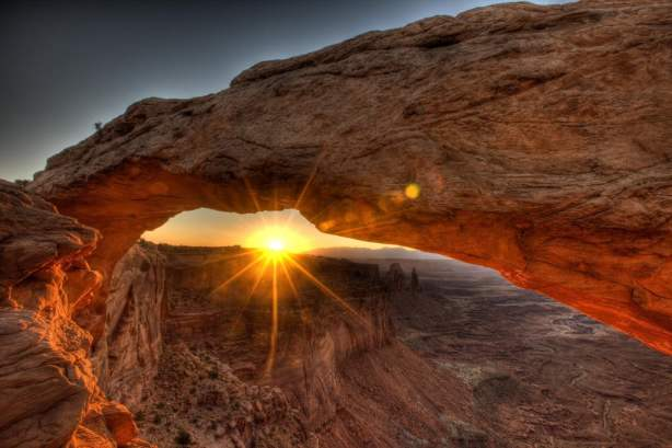 And the Sun Rises - Mesa Arch