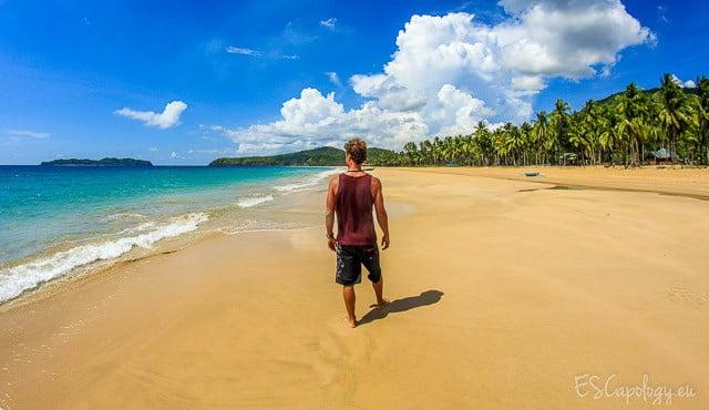 Lonely beaches. A seldom phenomenon in Asia. The Philippines