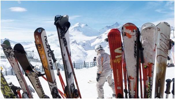 Skiing in Austria