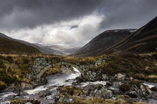 Scottish Munros winter photo