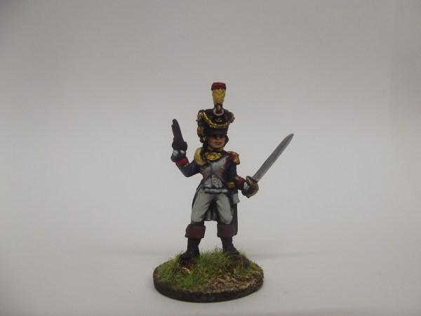 French voltigeur officer