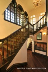 Hudson Valley Wedding Venues- Rushmore staircase