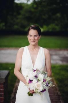 bride - boscobel wedding