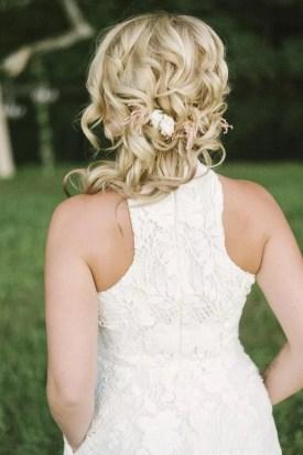 bridal hair - bw bridal