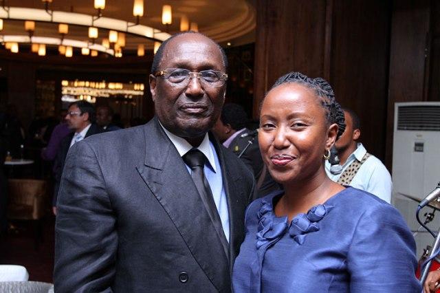 Chris Kirubi wife