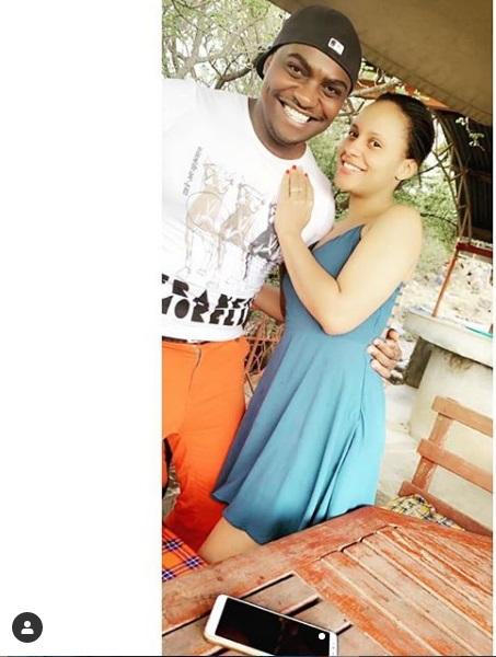 Eric Njoka wife