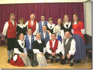 A Welsh choir at the Urdd Eisteddfod
