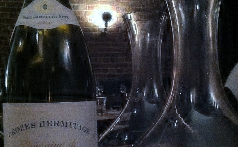 A mag of Crozes-Hermitage Domaine Thalabert 2006, Jaboulet
