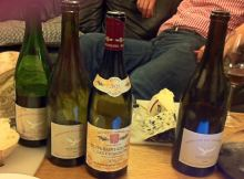 Some of the wines we sampled