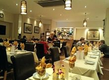 Inside the Bangkok Brasserie
