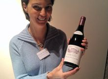 Claude Drouhin with the world's most lovely Corton rouge