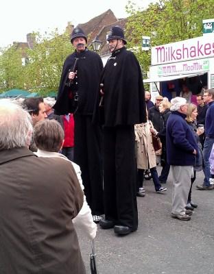 Alresford's tall policemen