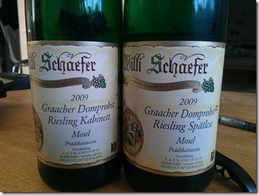 Two 2009 Willi Schaefer's